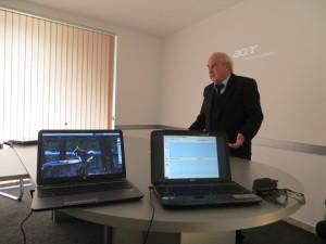 Atanas M.Atanasov presenting current projects in Black Sea Regional Energy Centre